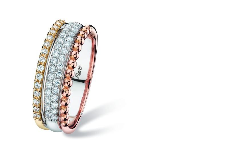 Bague Carats Bijouterie 3 Ors Durand Et 18 Diamants yb7gYIf6vm